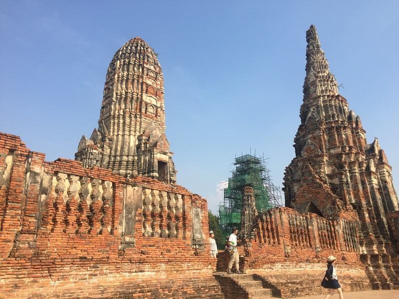 タイの遺跡巡りはアユタヤ!特に象で巡るエレファントライドがおすすめ!